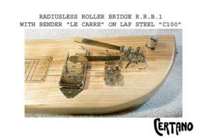 "The new bridge ""R.R.B.1"" is a roller bridge without radius"